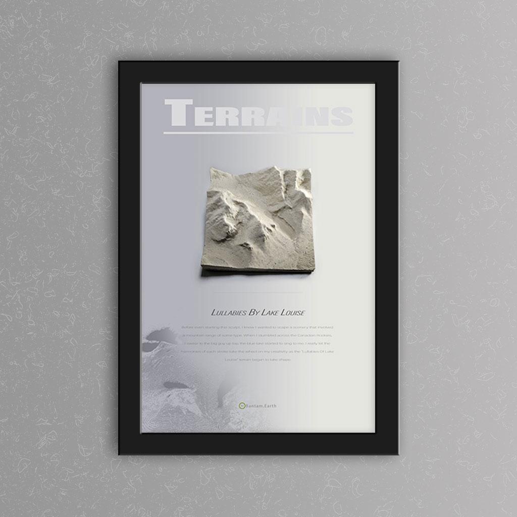 'Lullabies By Lake Louise' Prototype Print