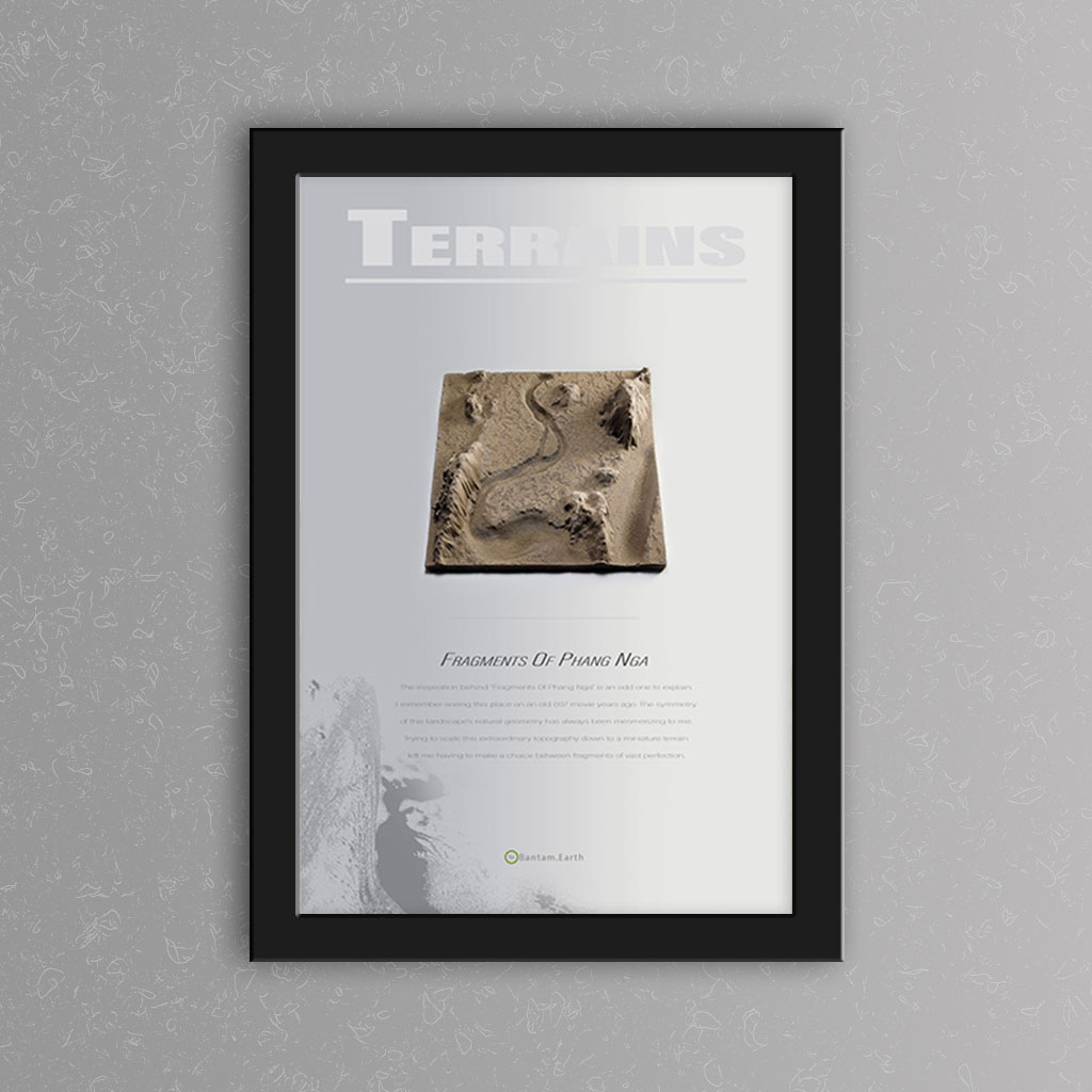 'Fragments Of Phang Nga' Prototype Print