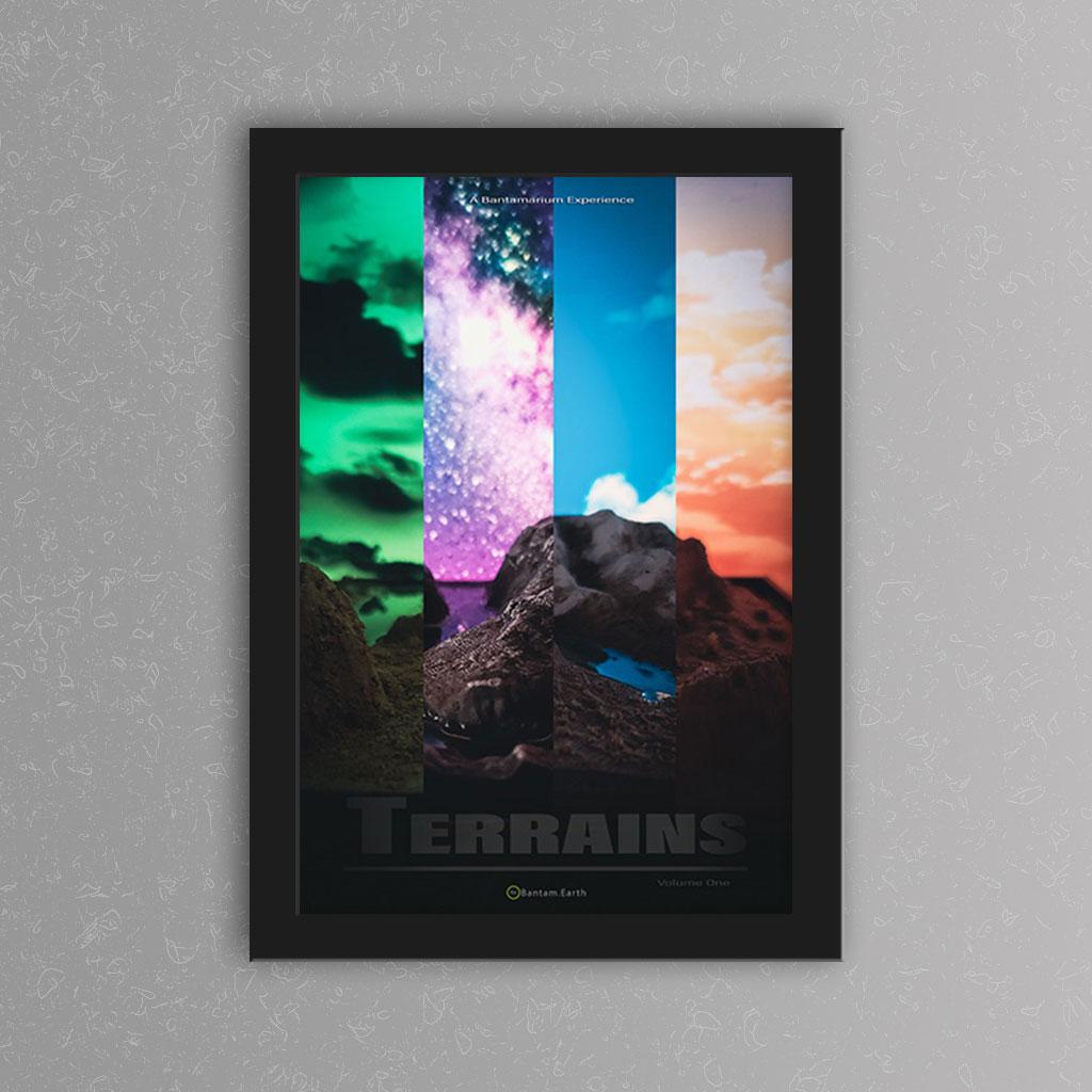 'Bantamarium Terrains Volume One' Print